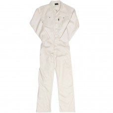 J54 Unbleached Boiler Suit with Reflective