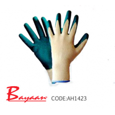 Bayaan - Gripper Green Latex – Dipped Gloves