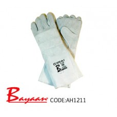 Bayaan - Chrome Apron Palm Elbow Glove