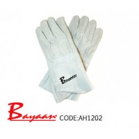 Bayaan - Chrome Leather Gloves