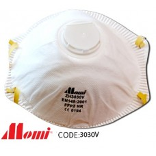 Momi - Premium FFP2V with Valve Dust Mask