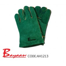 Green Lined Wrist Welding Glove