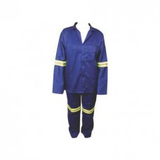 Conti Suit Polycotton Royal Blue with Reflective
