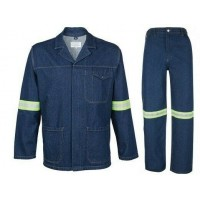 Conti Suit Denim with reflective