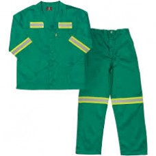 Conti Suit 100 % Cotton Flame Retardant with Reflective